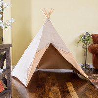5 Post Light Brown Teepee