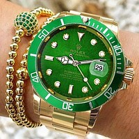 Rolex Timeless Chic Women Men Watch Fashion Watch