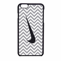 Nike Logo Chevron Graydc iPhone 6 Case