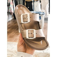 Jasmin Sandals - Rose Gold