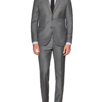 Solid Woven Suit