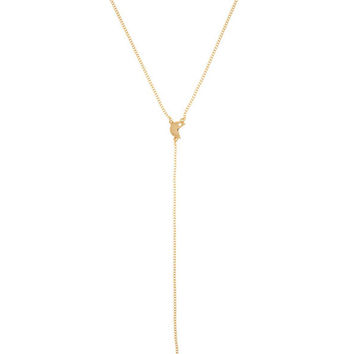 Pac-Man Gold Drop Necklace - Gold