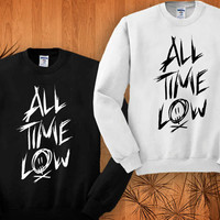 All Time Low sweatshirt black and white size S - 3XL