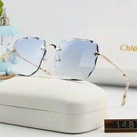 Chloe Women Fashion Summer Sun Shades Eyeglasses Glasses Sunglasses 2#