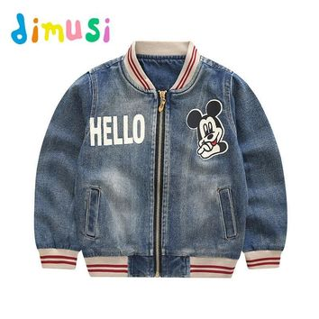 Trendy DIMUSI Children's Denim jacket boys Autumn Cartoon Pringting Coat windbreak outwear children bomber jacket kid Clothes BC043 AT_94_13