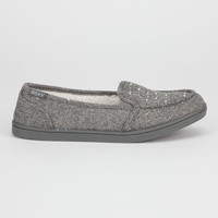 Roxy Lido Wool Ii Womens Shoes Grey  In Sizes