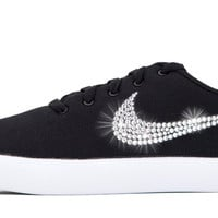 Nike Essentialist - Crystallized Swarovski Swoosh - Black/White