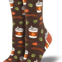 Pumpkin Spice Latte Women's Crew Socks