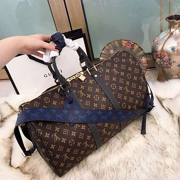 LV Louis Vuitton 2018 classic presbyopia bag travel bag Messenger bag F-BCZ(CJZX)