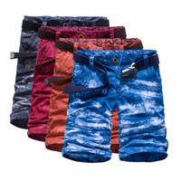 Color Painted Shorts