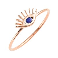 Tai Jewelry - Rose Gold Ring | Evil Eye Ring