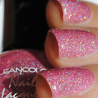 New! KLEANCOLOR ♥ HOLO PINK ♥ Nail Polish~ PINK HOLOGRAPHIC Glitter!