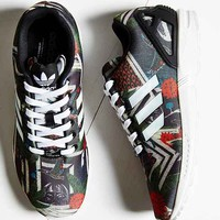 adidas Originals ZX Flux Jungle Print Running Sneaker