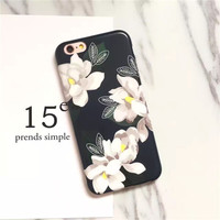 Fashion daffodils phone case for iPhone 5 5s SE 6 6s 6plus 6splus 7 7plus 1018J01