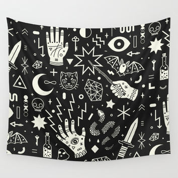 Witchcraft Wall Tapestry by Lord Of Masks