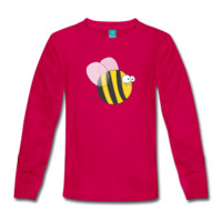 Tee shirt manches longues Cool & Crazy Funny Bee / Bumble Bee (Sweet & Cute) | Spreadshirt