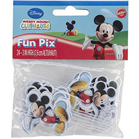 Wilton 2113-7071 Mickey Mouse Clubhouse Cupcake/Cake Fun Pix, Set of 24