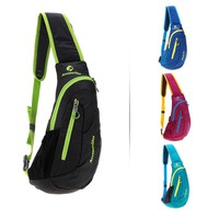 ANMEILU Chest Bag Outdoor Cycling Sling Bag Lightweight Waterproof Chest Sports Bag Unisex Shoulder Backpack Packs Travel Bags