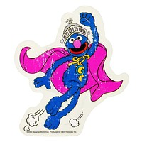Sesame Street - Super Grover Decal
