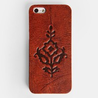 Western Rose iPhone 5/5s Case In Tan