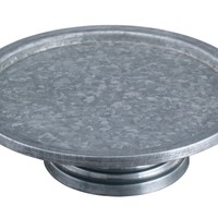 Functional Metal Cake Stand By Benzara