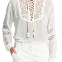 The Kooples Lace Tunic   Nordstrom