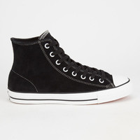 Converse Cons Ctas Pro Suede High Mens Shoes Black/White  In Sizes