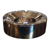 Pre-owned Mid-Century Modern Chrome Ashtray