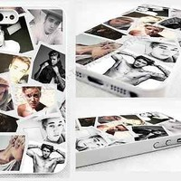 head case,cover for iPhone,iPod>Justin Bieber design,selfie,collage,tattoos