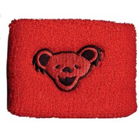 Grateful Dead - Red Bear Wristband