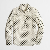 Factory polka-dot popover - Shirts & Tops - FactoryWomen's New Arrivals - J.Crew Factory