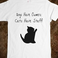 Cats Have Staff