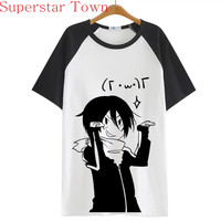 Summer Style Sudadera Anime Tops Tee Casaul Noragami T-shirt Women Japan Cool Clothes Patchwork Female Harajuku Shirt