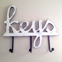Home decor, housewares, wall decor, key holder, hanging key holder, key rack