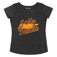 I Miss Knoxville!-Female Heather Onyx T-Shirt