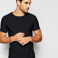 ASOS Muscle T-Shirt With Crew Neck And Stretch