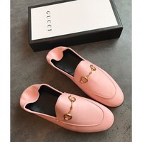Gucci Leather Horsebit Loafer #1492