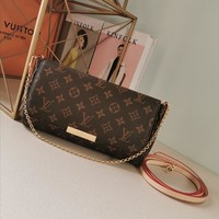 Kuyou Gb2981 Louis Vuitton Lv M40718 Monogram Handbags Cross Body Bags Favorite Mm 26*17*4cm