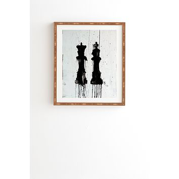 Kent Youngstrom Check Mates Framed Wall Art