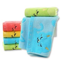 Colorful Kid's Towels with Cats!