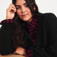 Girls Crop Cardigan | Girls Tops | HollisterCo.com