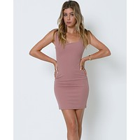 Stand Out Dress - Nude