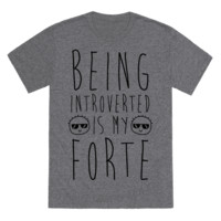 BEING INTROVERTED IS MY FORTE
