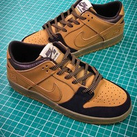 Nike Sb Dunk Mid Wheat Lewis Marnell | Aj1445-200 Sport Shoes - Best Online Sale