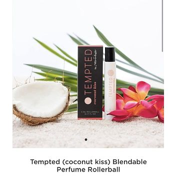 Pre Order: Tempted Kiss Coconut Lotion or Rollerball perfume