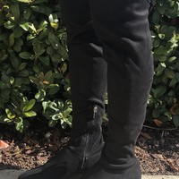 Fall Fashion Boots- Black