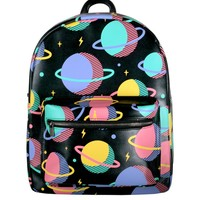 Planets Leather Mini Backpack
