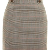 Heritage Checked Frill Skirt - Clothing