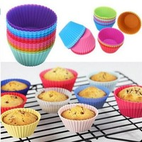 12 piece Cupcake Baking Mold