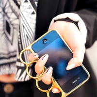 iPhone Brass Knuckles Case